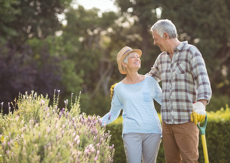 A couple adjusting to retiring with hobbies